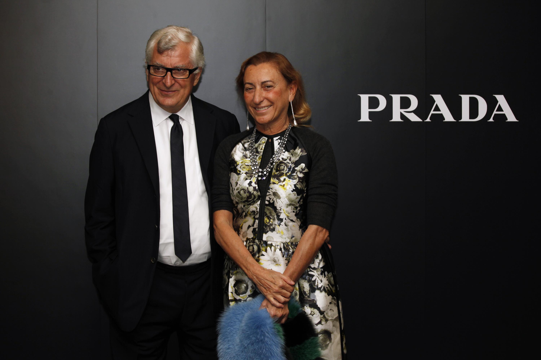 Patrizio Bertelli & Miuccia Prada