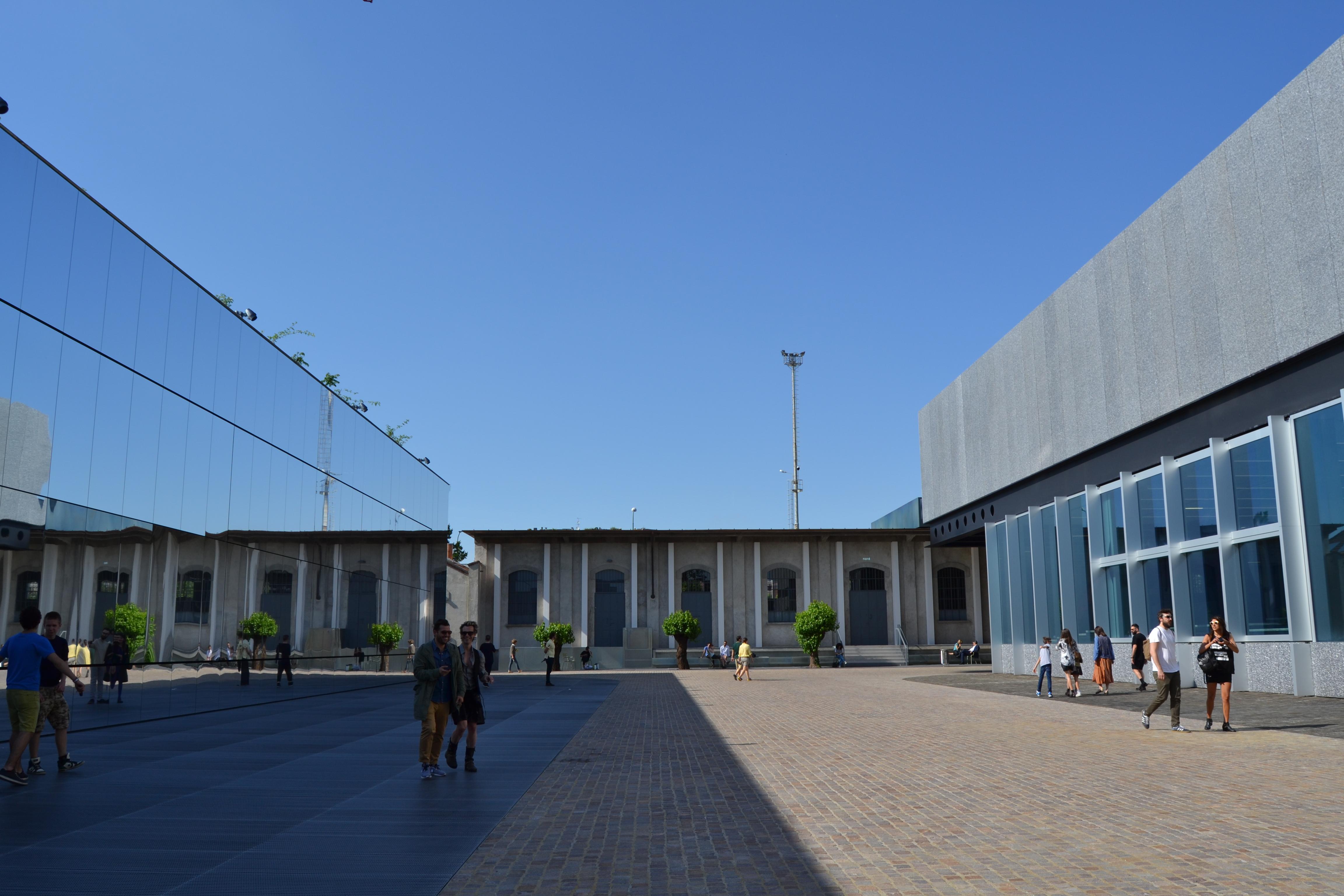 Fondazione Prada- Cinema & Cisterna.