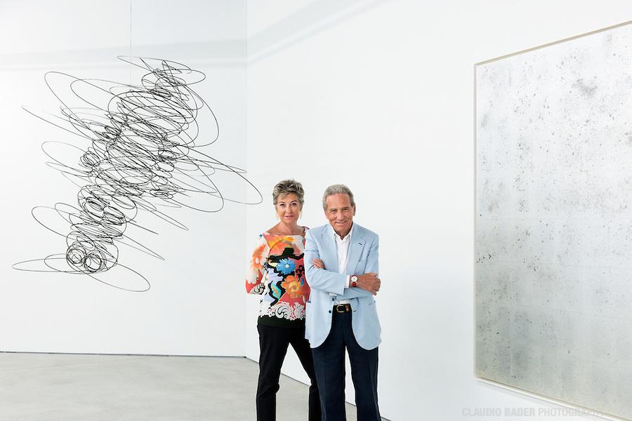 Giancarlo e Danna Olgiati, Collezione Olgiati, -1, Lugano, 2014.09.18
